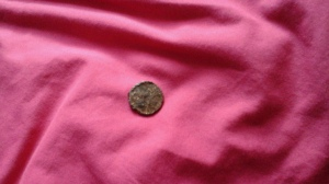 The first penny I found